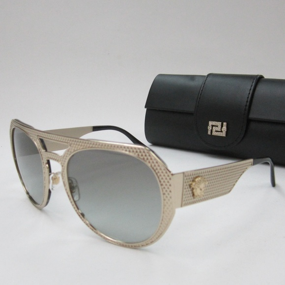 f44cd73aa68 Versace 2175 125211 Unisex Sunglasses Italy OLN283.  M 5b16f834aaa5b8134a896fe4